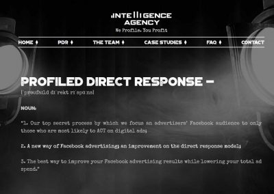 Intelligence Agency