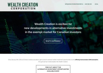 Wealth Creation Corp