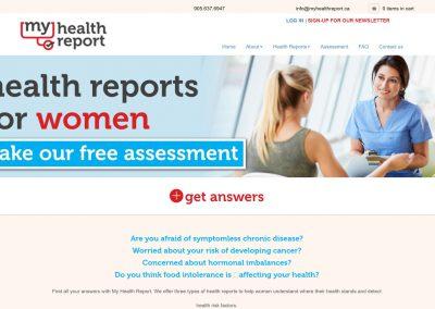 My Health Report