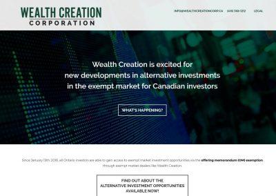 Wealth Creation Corp